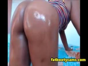 Ravage mein dicker geölter schwarzer arschhündchen - fatbootycams.com
